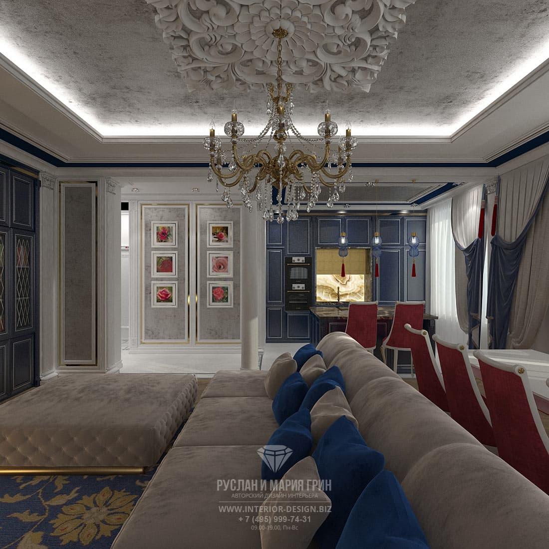 Идеи дизайнерского оформления гостиной