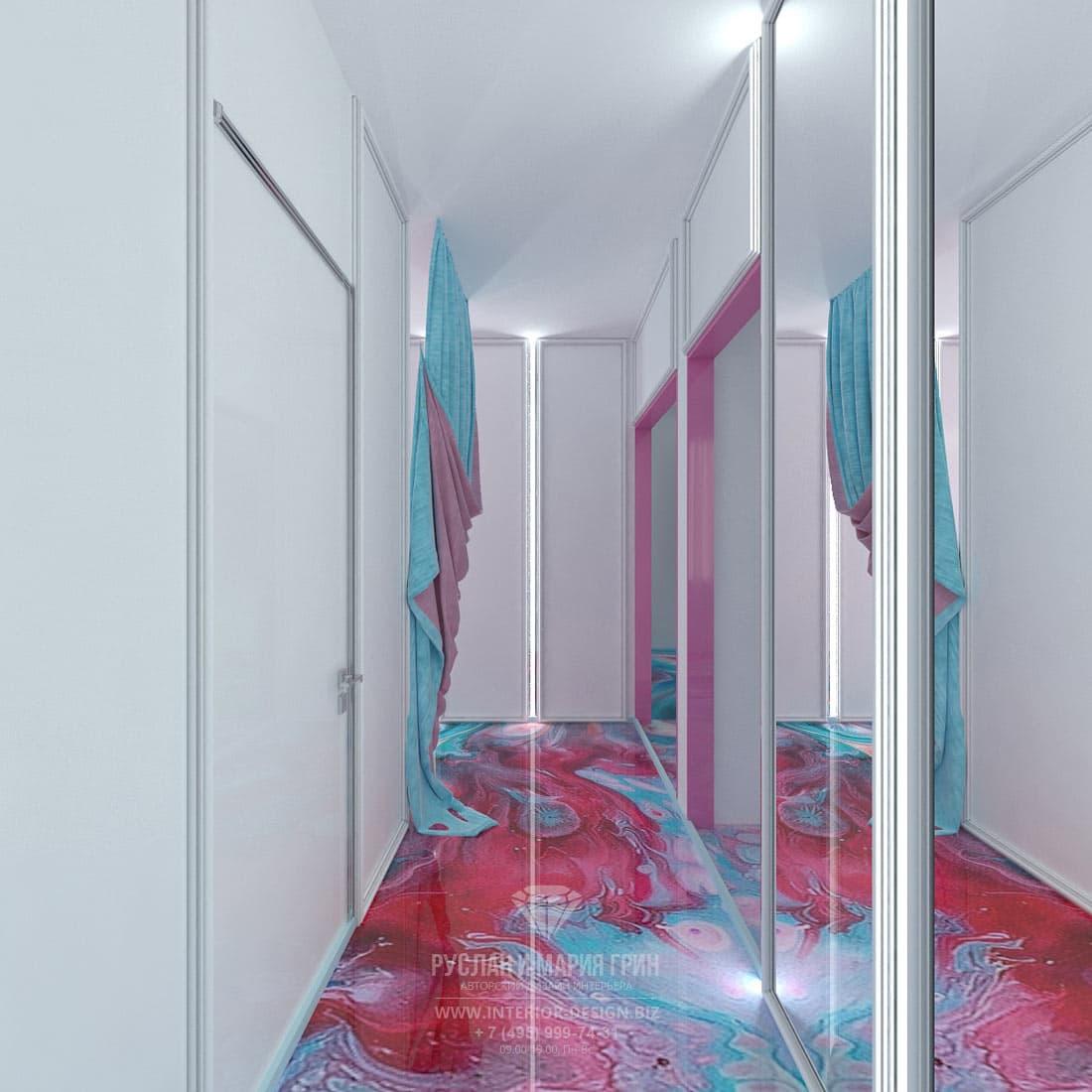 Дизайнерское оформление небольшого кабинета