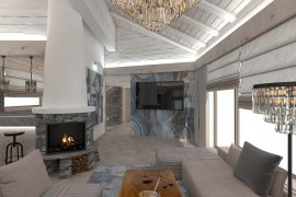 Home Remodeling Design, Crans Montana Ski Resort, Switzerland