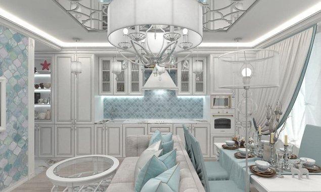 Дизайн небольшой квартиры в стиле эклектика