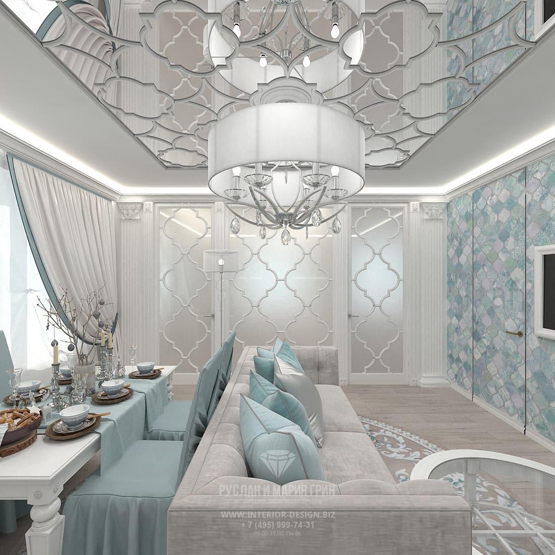 Дизайн интерьера гостиной в небольшой квартире