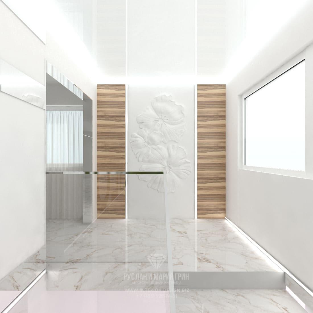Дизайн интерьера современного салона красоты. Интерьер лестницы