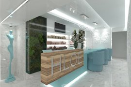 Modern Beauty Parlour Interior Design