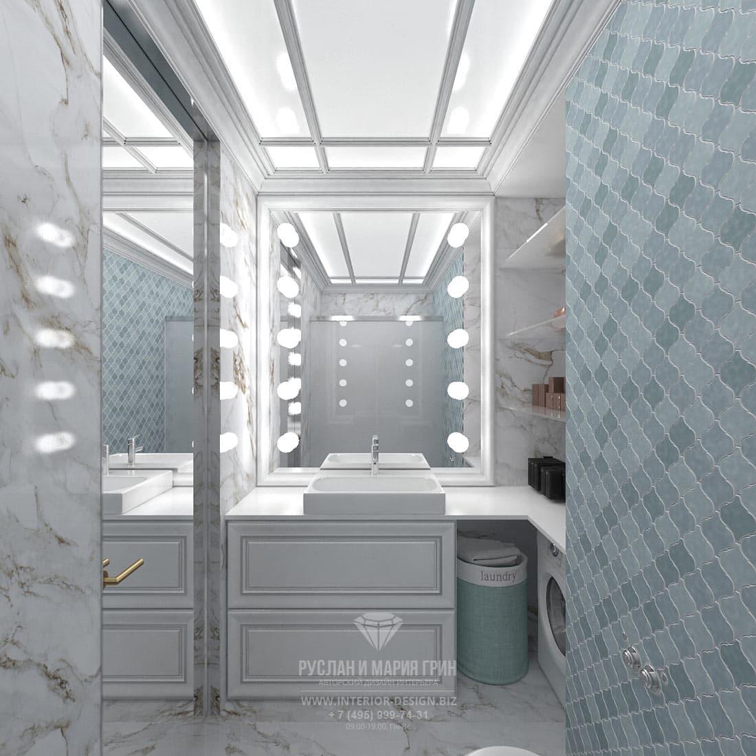 Дизайн интерьера санузла в небольшой квартире