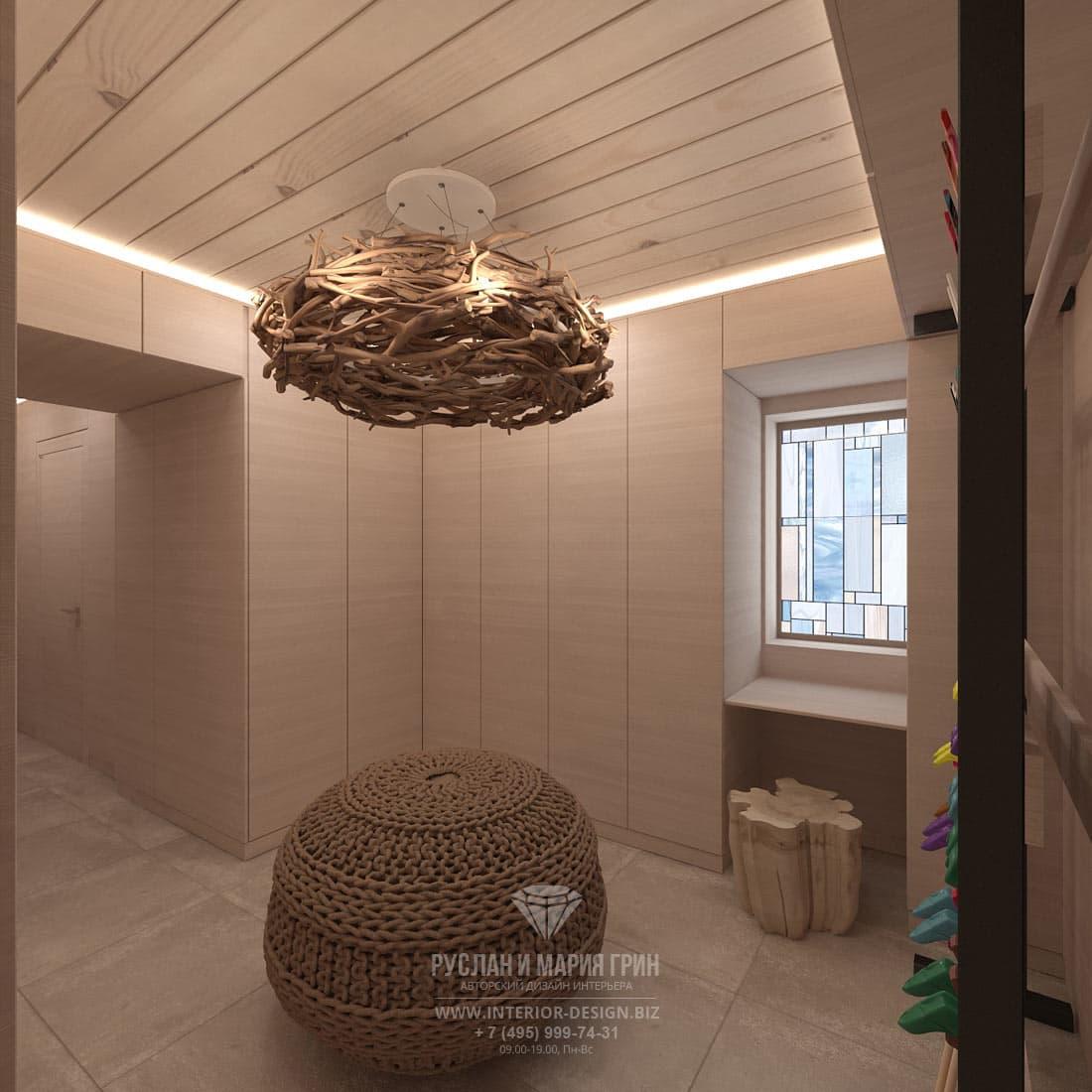 Дизайн прихожей в доме в Швейцарии