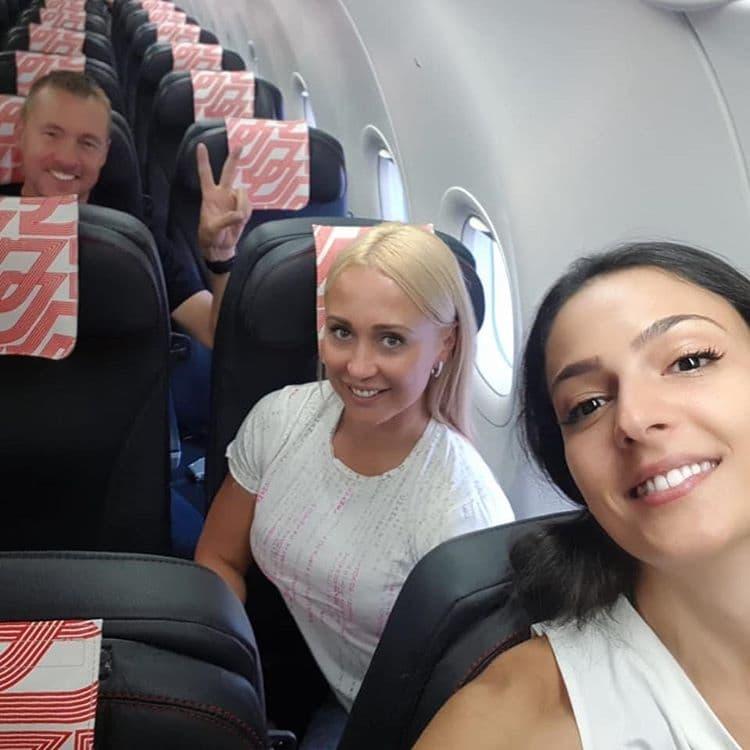 Фото в самолете