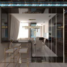تصميم غرفة المعيشة الداخلية
