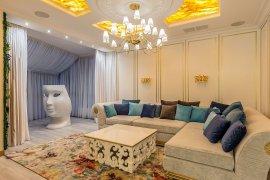 Интерьер гостиной в стиле ар-деко