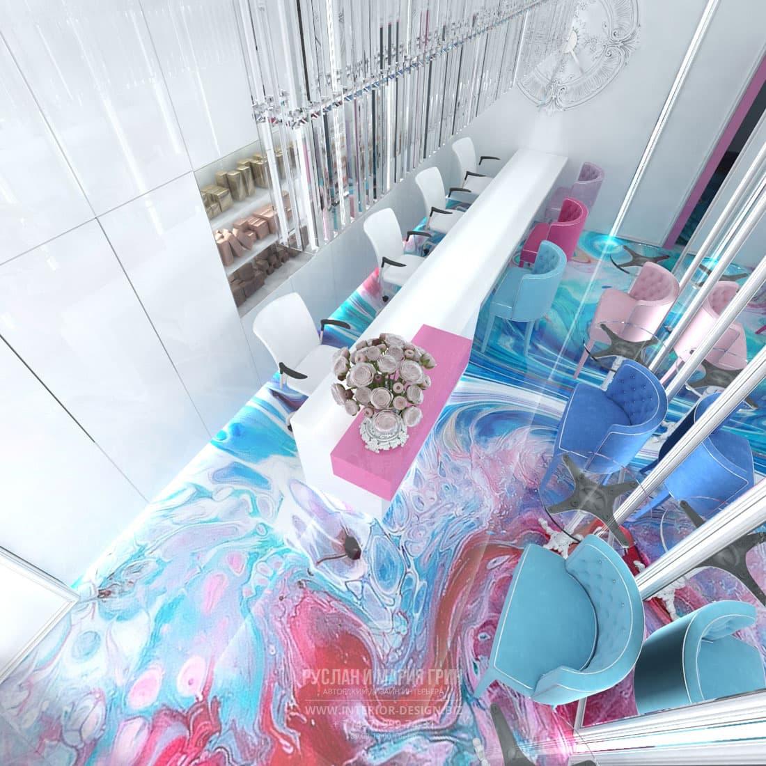 Дизайн салона красоты. Фото интерьеров