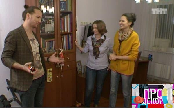 Руслан и Маша съмки на TV