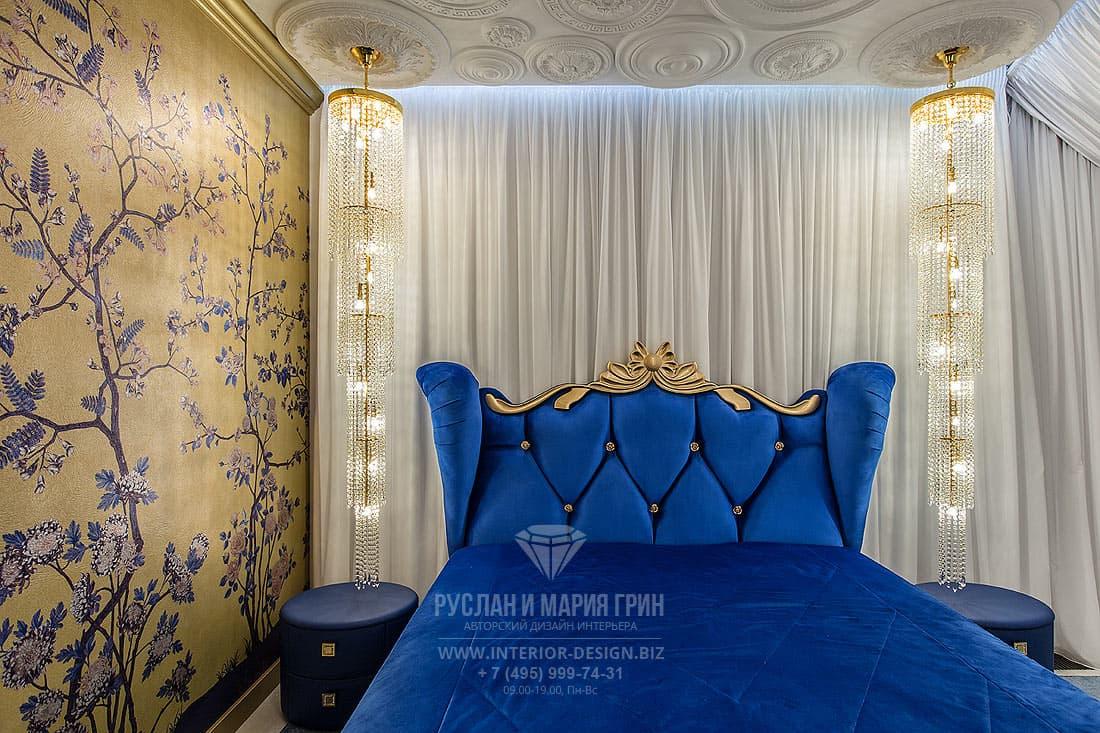Модный интерьер спальни 2019