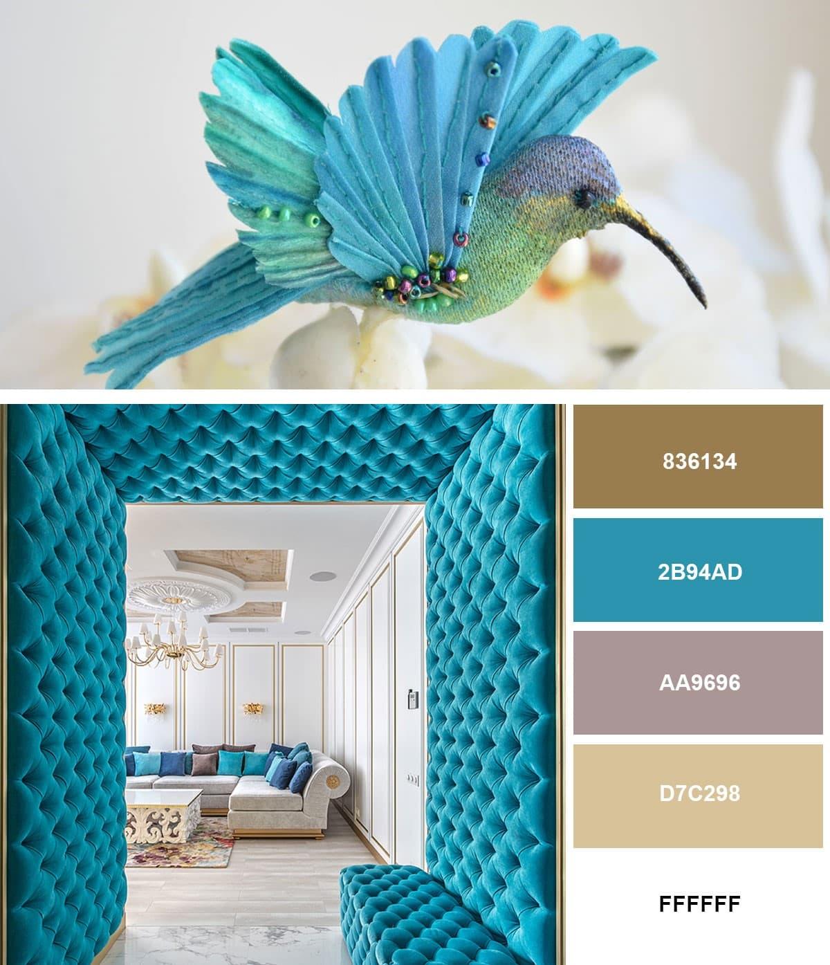 Модный дизайн интерьера гостиной 2019