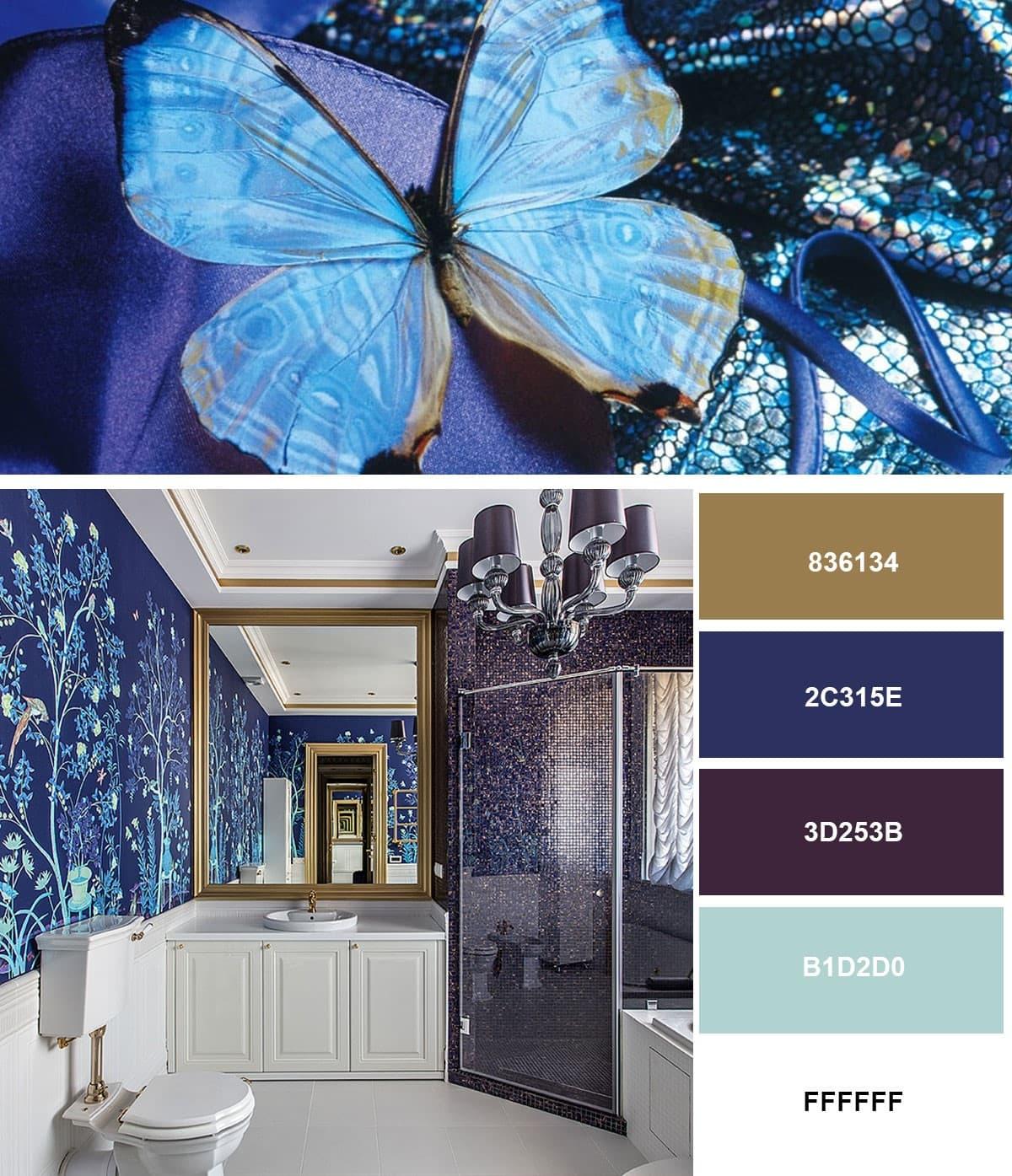 Современный интерьер ванной комнаты 2019