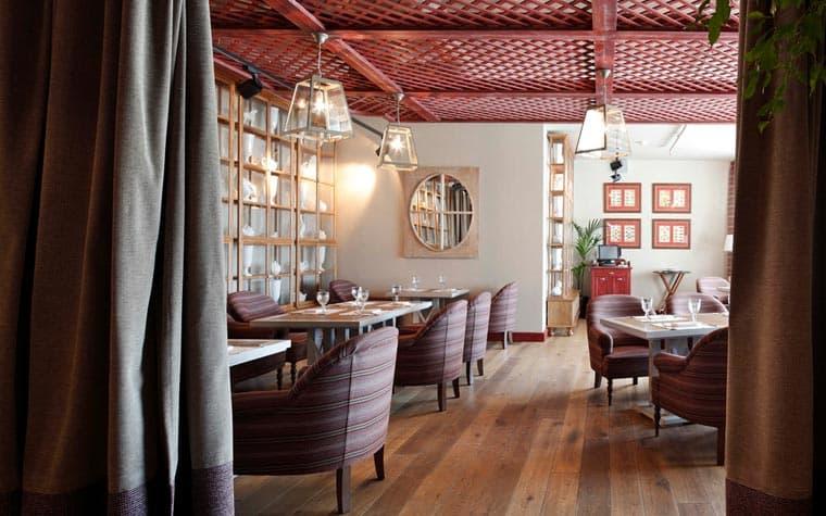 Дизайн-проект ресторана в светлых тонах от Катерины Чайковской