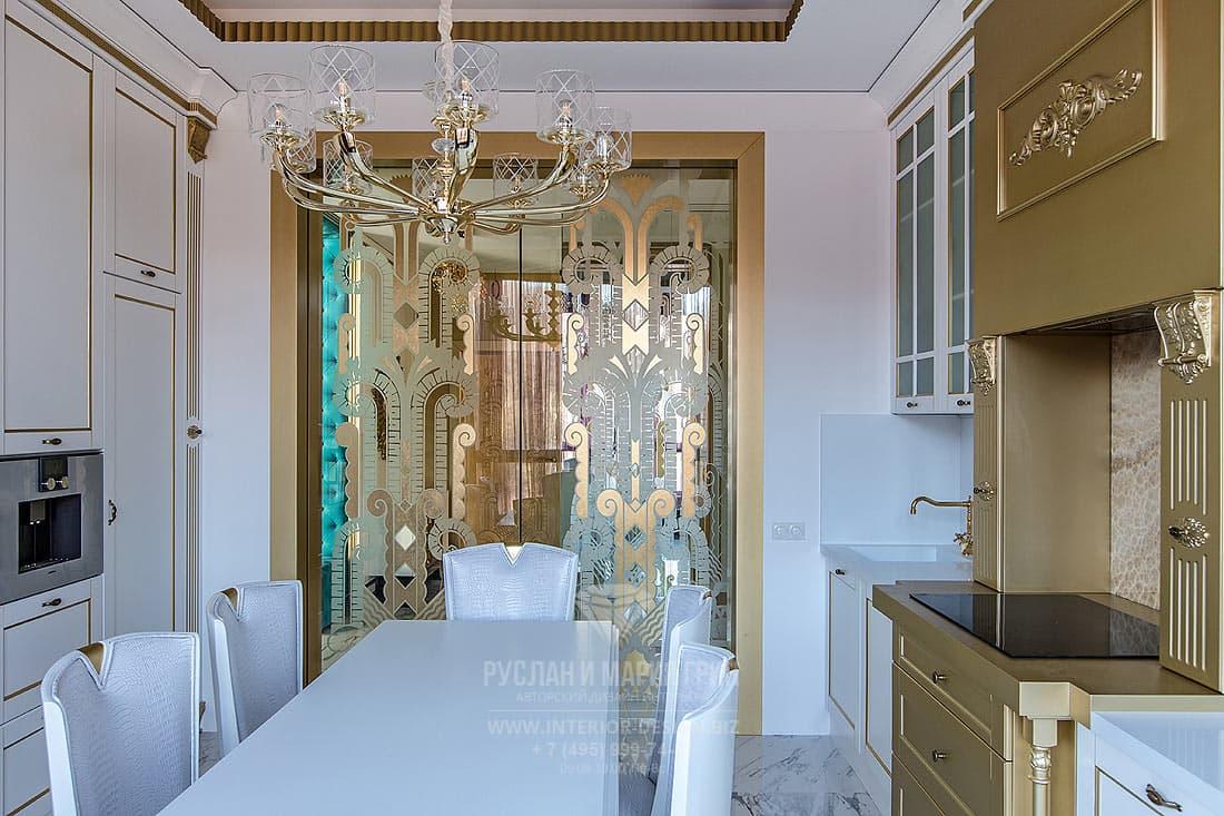 Современный дизайн квартиры 2019. Фото кухни