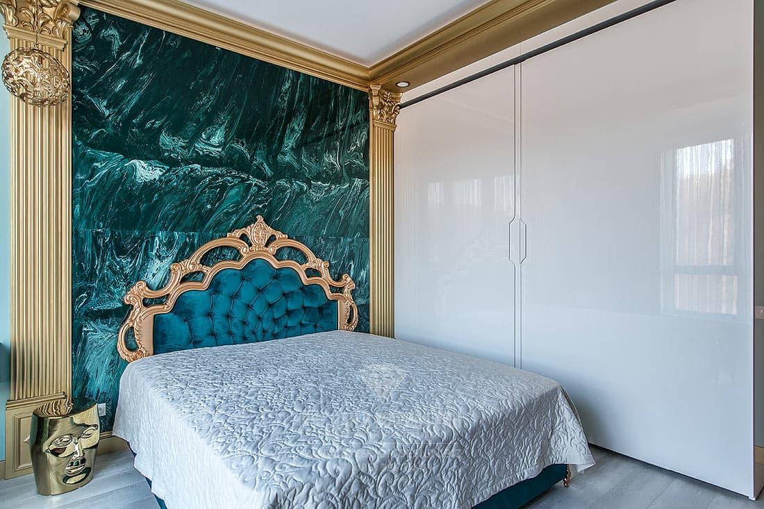Современный дизайн квартиры 2019. Гостевая спальня