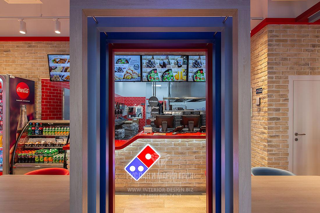 Domino\'s Pizza Interior Design