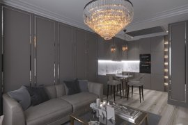 "Design of a two-room apartment in the residential complex ""Saturday"""