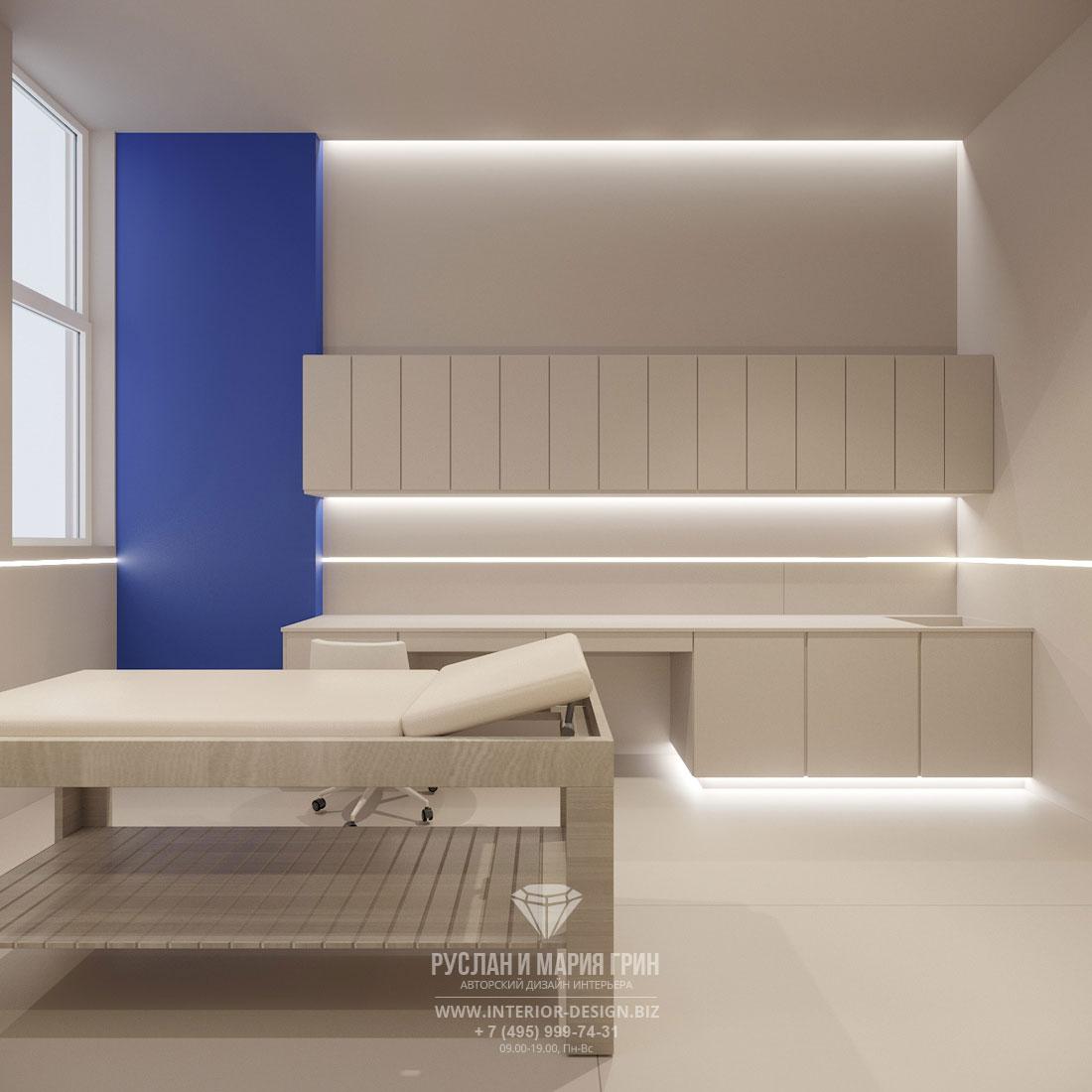 Дизайн интерьера косметологического кабинета в салоне красоты