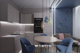 Дизайн маленькой однокомнатной квартиры для семьи с ребенком