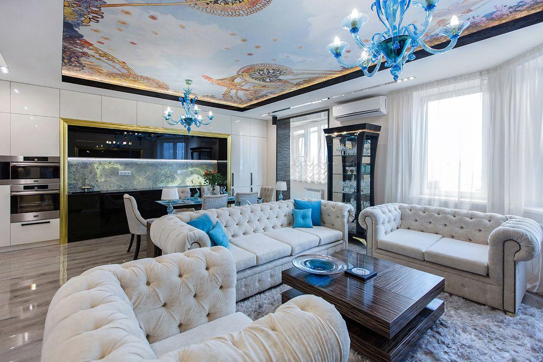 Дизайн интерьера квартир в Москве. 600+ фото