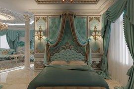Дворцовая роскошь спальни в частном доме