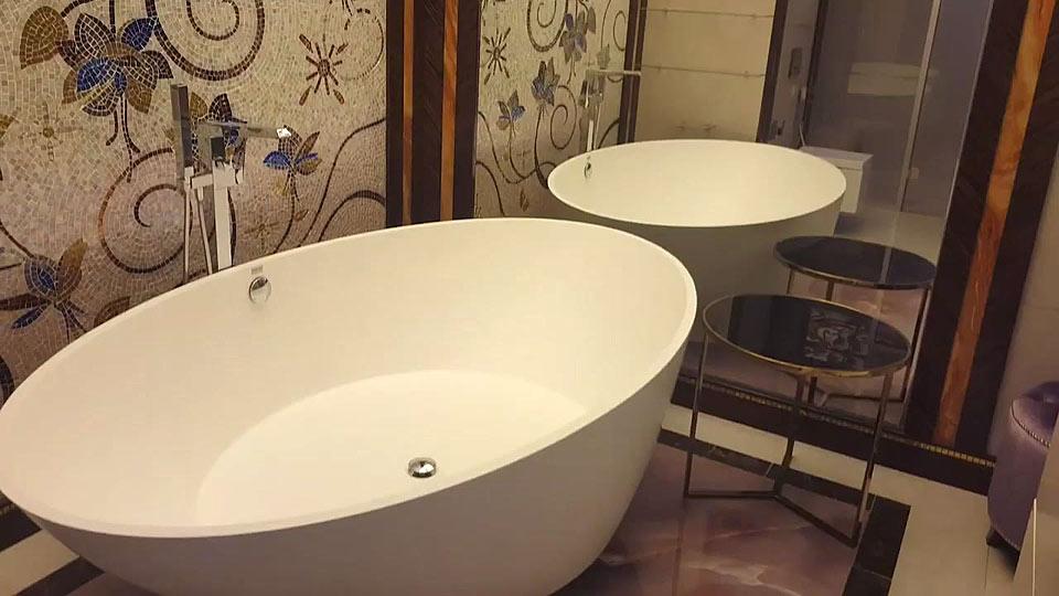 Дизайн ванной комнаты. Реализованный проект