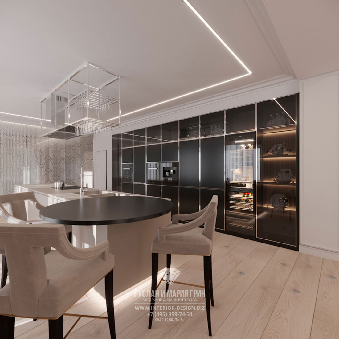 Дизайн интерьера гостиной в стиле минимализм