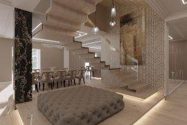 Интерьер дома в стиле минимализм