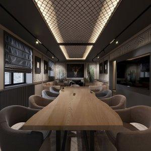 Дизайн интерьера переговорной комнаты в автосалоне