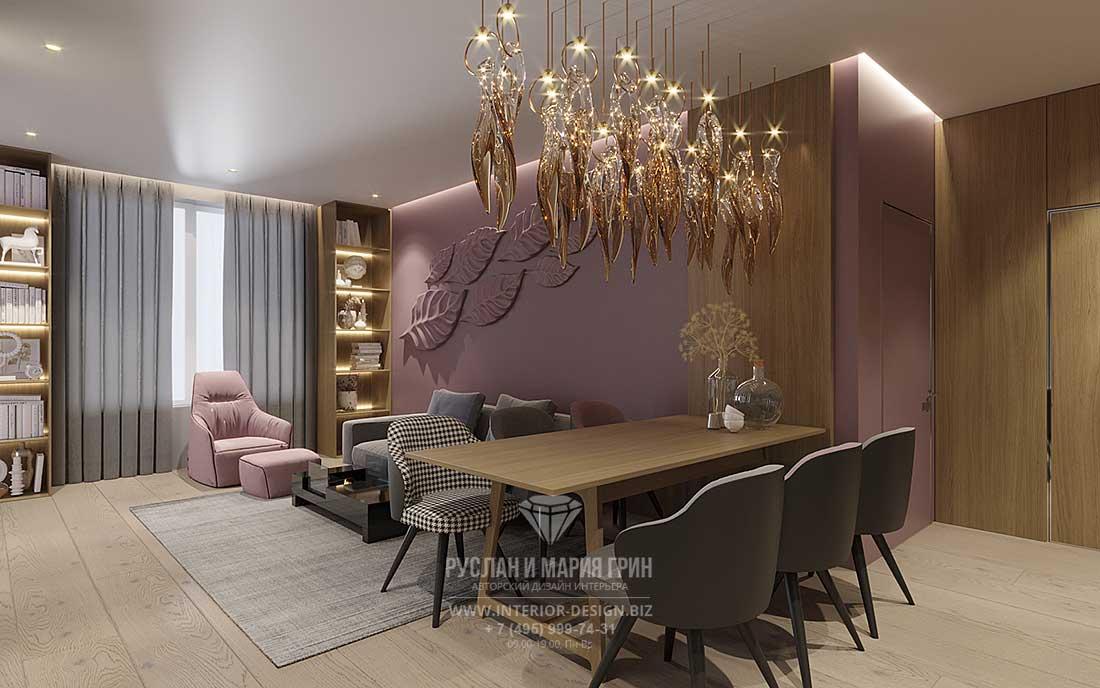 Современный дизайн-проект квартиры для недорогого ремонта