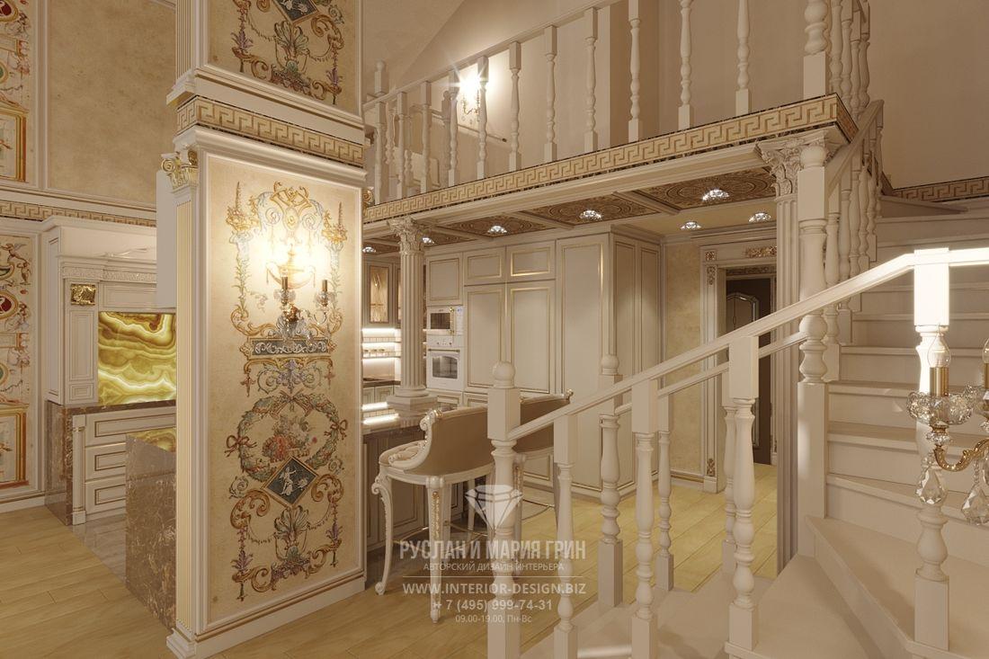Дизайн двухуровневой квартиры в ЖК «Николин Парк»