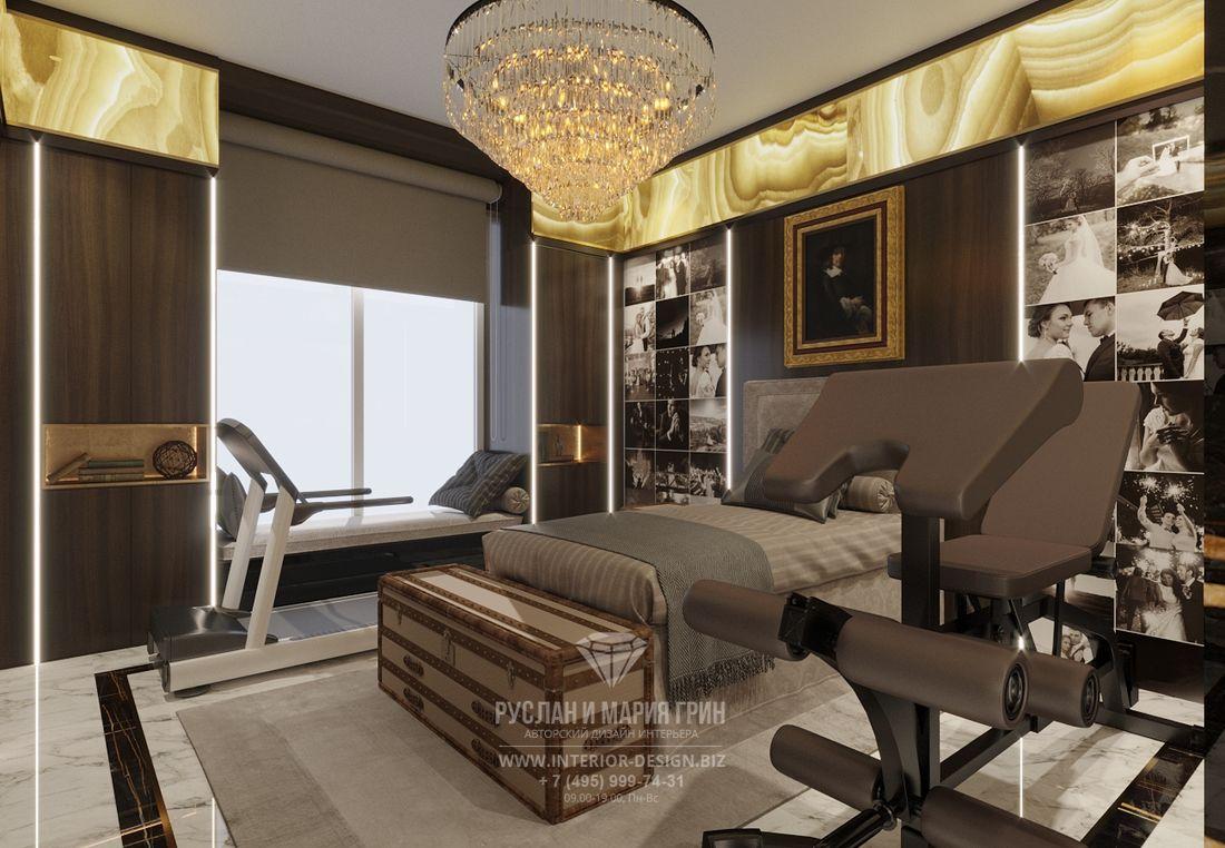 Дизайн интерьера мужской спальни с фотогалереей