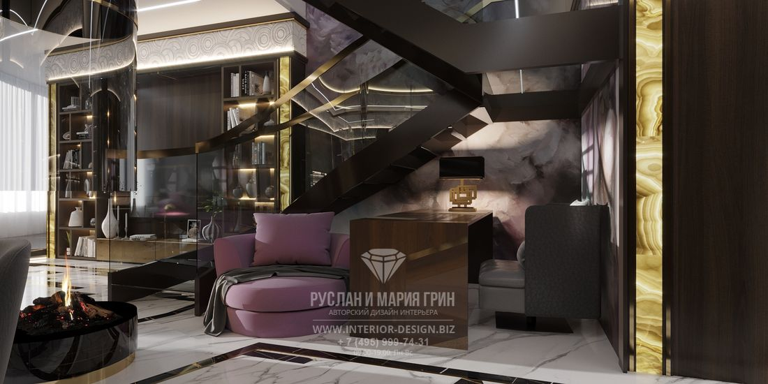 Дизайн элитной квартиры в Санкт-Петербурге