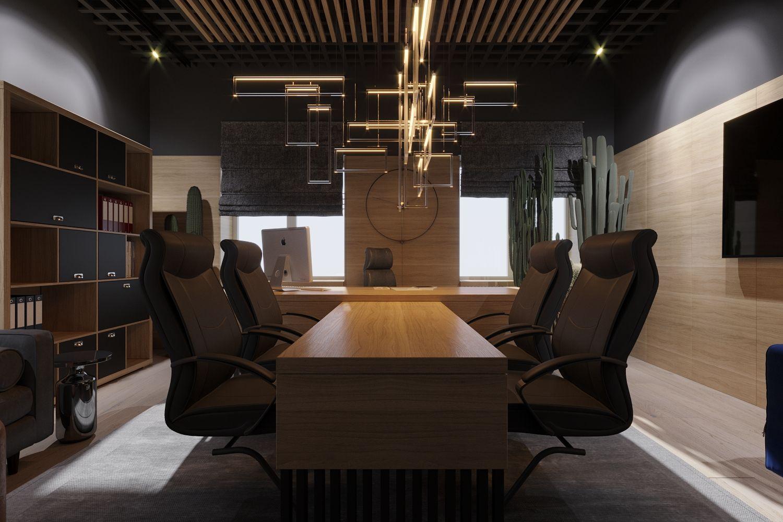 Дизайн-проекты офисов